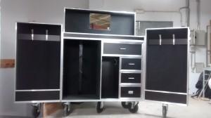 XXL con cajón medio y zona extralarga de montureros doma.